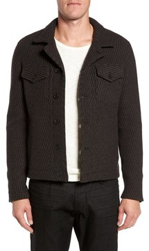Billy Reid Men's Berger Wool Shirt Jacket