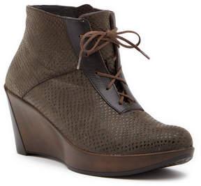 Naot Footwear Nadine Reptile Embossed Wedge Boot