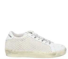 Leather Crown Low-top Sneaker