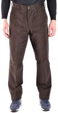 Paul & Shark Men's Brown Cotton Pants.