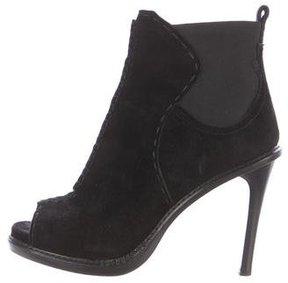 Derek Lam Peep-Toe Platform Ankle Boots