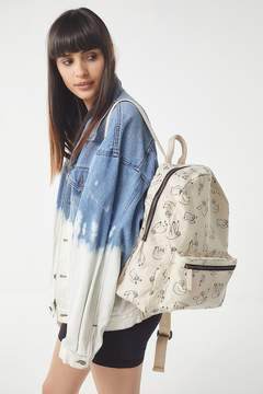 Urban Outfitters Sketch Canvas Backpack