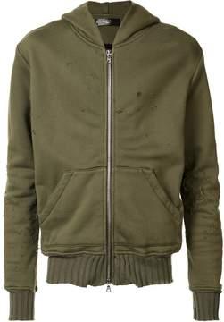 Amiri Shotgun zip-up hoodie