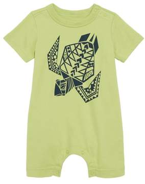 Tea Collection Sea Turtle Graphic Romper