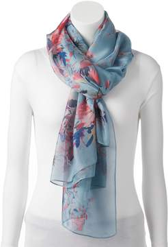 Apt. 9 Hibiscus Oversized Oblong Scarf