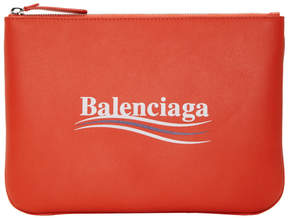 Balenciaga Red Everyday Campaign Pouch