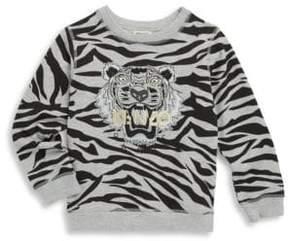 Kenzo Toddler's, Little Boy's & Boy's Zebra Sweatshirt