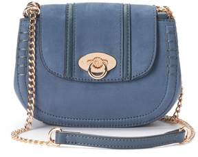 Lauren Conrad Macaron Stitched Saddle Bag