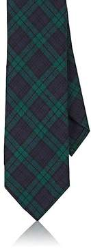 Barneys New York Men's Plaid Wool Necktie