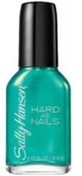 Sally Hansen Hard As Nails Nail Color Nail Polish, 650, Made In Jade.