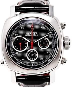 Panerai Ferrari Rattrapante F6657 Ceramic / Rubber 45mm Mens Watch