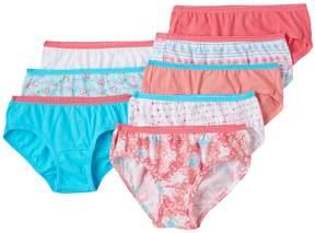 Hanes Girls 4-16 8-pk. Tagless Hipster Panties