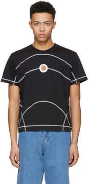 Craig Green Black Flat Lock Jersey T-Shirt