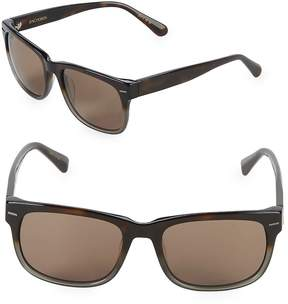 Zac Posen Women's Hayworth 55MM Rectangular Sunglasses