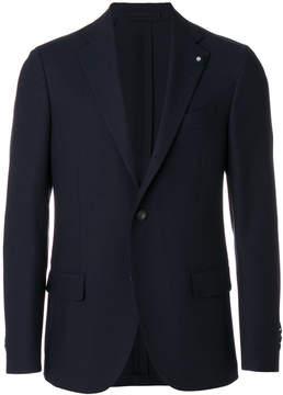 Lardini flap pocket blazer