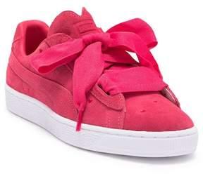 Puma Suede Heart Valentine Sneaker (Big Kid)