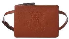 Lauren Ralph Lauren Faux Leather Anchor Belt Bag