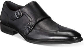 Alfani Men's Comfort Flx Jonah Saffiano Double Monk Strap Oxfords Created for Macy's Men's Shoes