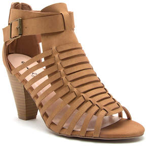 Qupid Tan Chamber Sandal - Women
