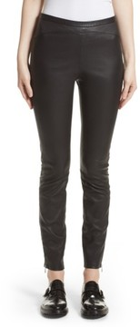 Belstaff Women's Gazelle Leather Leggings