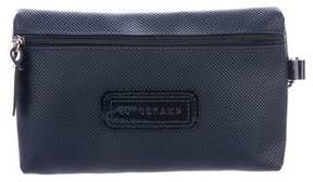 Longchamp Coated Canvas Zip Pouch