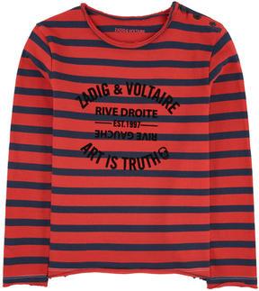Zadig & Voltaire Mini Me striped T-shirt