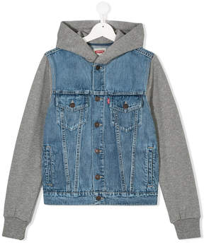 Levi's Kids Teen layered-look denim jacket