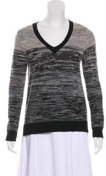 Enza Costa Wool Patterned Sweater