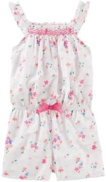 Osh Kosh Oshkosh Bgosh Toddler Girl Floral Romper