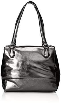 Liebeskind Berlin Women's Mesa Metallic Leather Shoulder Bag