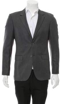 Calvin Klein Collection Woven Two-Button Blazer