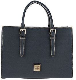 Dooney & Bourke As Is Saffiano Leather Janine Satchel - ONE COLOR - STYLE