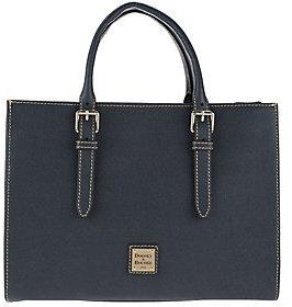 As Is Dooney & Bourke Saffiano Leather Janine Satchel
