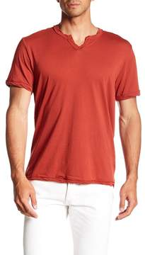 Alternative Notched Neck Organic Cotton T-Shirt
