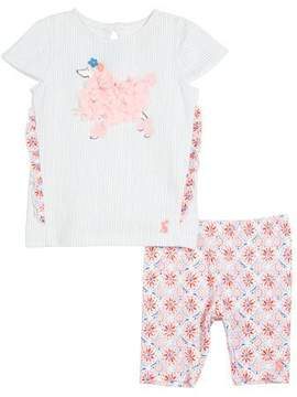 Joules Paula Poodle Top w/ Matching Leggings, Size 3-24 Months