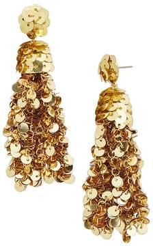 BaubleBar Sequin Tassel Drop Earrings