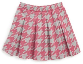 Tea Collection Girl's Houndstooth Skirt