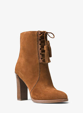 Michael Kors Odile Suede Ankle Boot