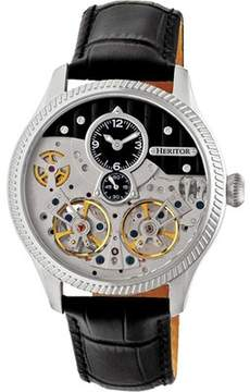 Heritor Automatic HERHR7302 Winthrop Skeleton Watch (Men's)