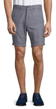 Black & Brown Black Brown Plaid Shorts