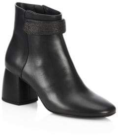 Brunello Cucinelli City Heel Leather Boots
