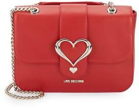 Love Moschino Women's Chain Heart Shoulder Bag