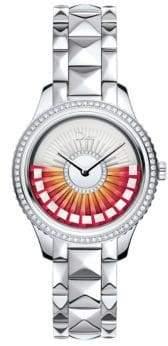 Christian Dior VIII Grand Bal Limited-Edition Diamond & Stainless Steel Bracelet Watch
