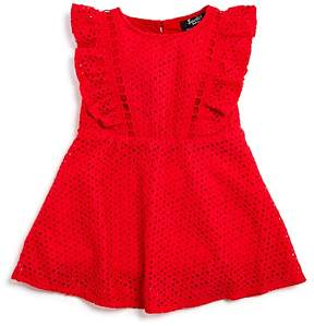 Bardot Junior Girls' Ruffled Eyelet Tilly Dress - Baby