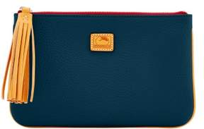 Dooney & Bourke Patterson Leather Carrington Pouch - MIDNIGHT BLUE - STYLE
