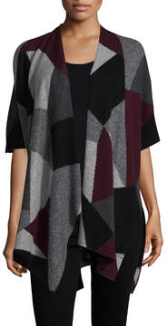 White + Warren Women's Cashmere Asymmetrical Wrap