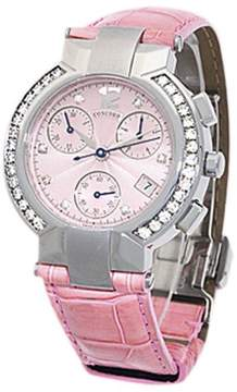 Concord La Scala Stainless Steel Chronograph Womens Watch