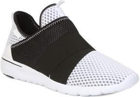 GBX White & Black Astoria Slip-On Sneaker - Men