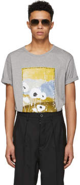 Acne Studios Grey Naive Pop T-Shirt