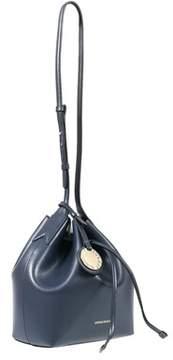 Emporio Armani Y3e080 Yh15a 88293 Midnight Blue/black Bucket Handbag.
